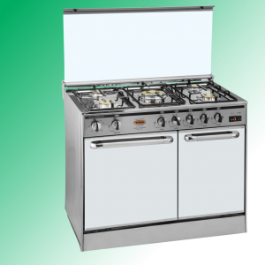 Puma Cooking Range Single Door 5 Burner Murcury Glass