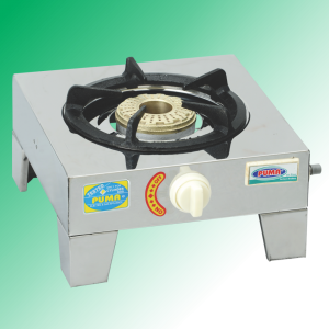 Puma Single Heavy steal Casted burner Gas Stove Avalible in Sui Gas & Cylinder Gas