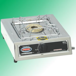 Puma Single Sanyo Megnate Steel Auto Switch Gas Stove