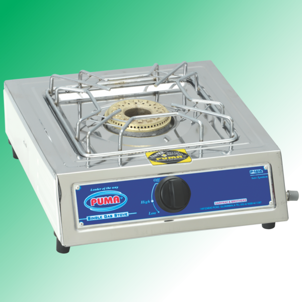 Puma Single Sanyo Megnate Steel Gas Stove Avalible in Sui Gas & Cylinder Gas