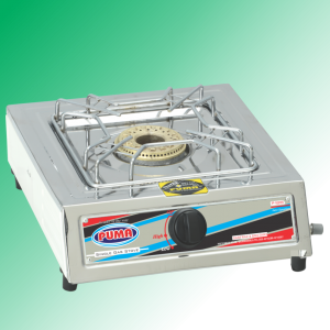Puma Single Sanyo Megnate Steel Pipe Burner Gas Stove