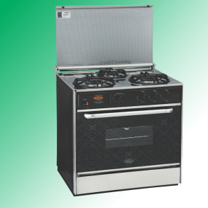 Puma Cooking Range Single Door 3 Burner Murcury Glass