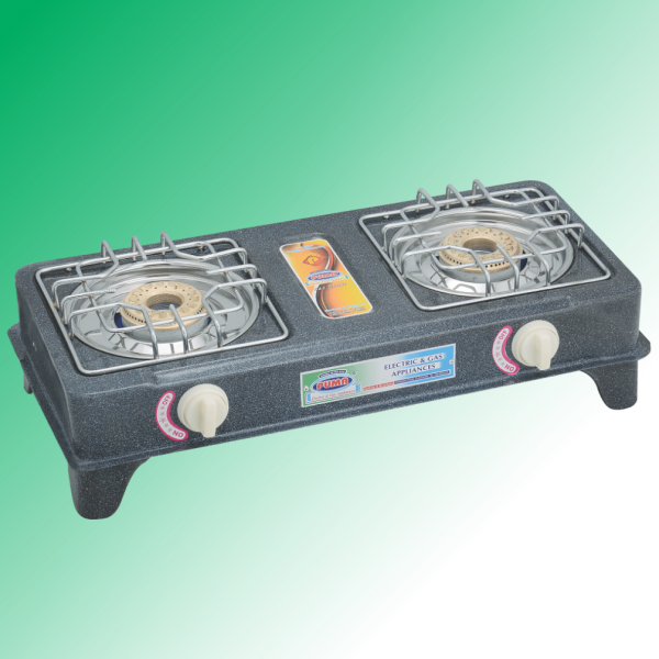 Puma One Piece Body double heavy Burner Gas Stove Avalible in Sui Gas & Cylinder Gas