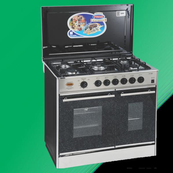 Puma Cooking Range Double Door 5 Burner