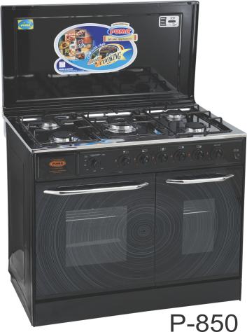 Puma Cooking Range Double Door 5 Burner