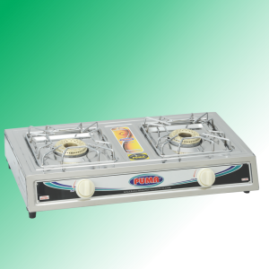 Puma Sanyo Super Model double Burner Auto Switch Gas Stove Avalible in Sui Gas & Cylinder Gas