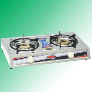 Puma Super Model double heavy Burner Gas Stove Avalible in Sui Gas & Cylinder Gas