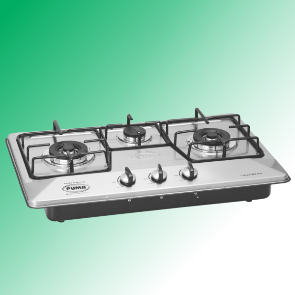 Puma Kitchen Hob 3 Burner Marble Whole Size(67x41cm)