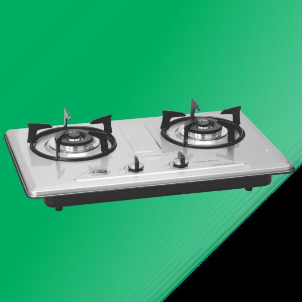 Puma Kitchen Hob 2 Burner Marble Whole Size(67x41cm)